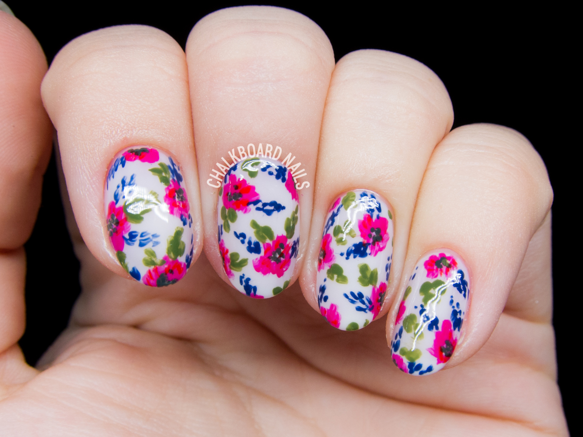 Simple Vintage Floral Inspired by Lacquerstyle