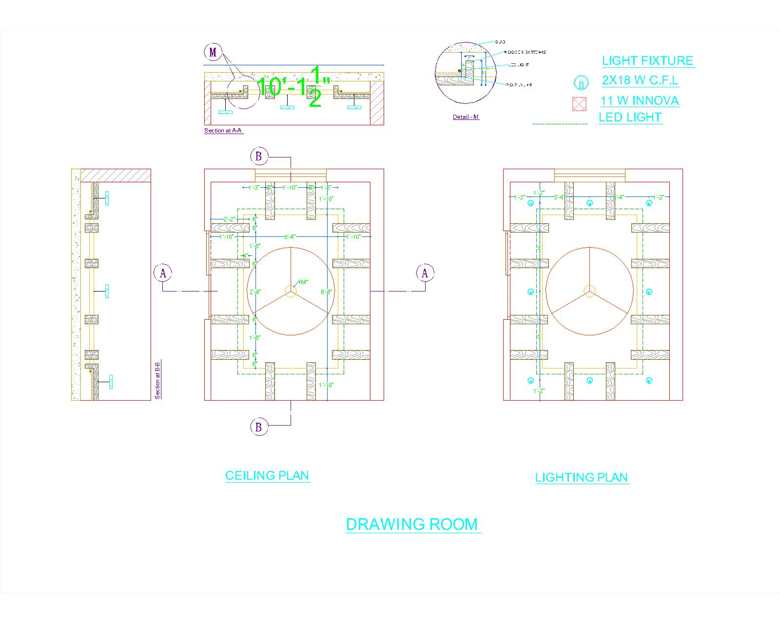 Apartment Plans Autocad