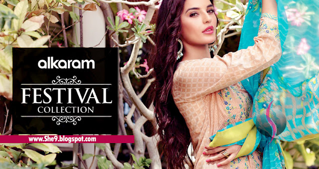 Alkaram Festival Collection 2015 Magazine