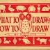 Ce desenezi si cum sa desenezi , tehnici de desen intr-o  fantastica carte gratuita