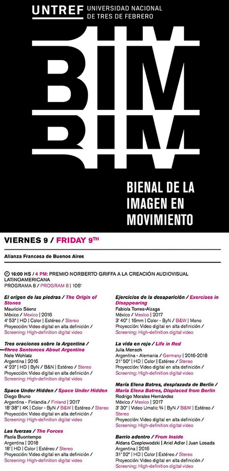 BIM - Bienal de la Imagen en Movimiento