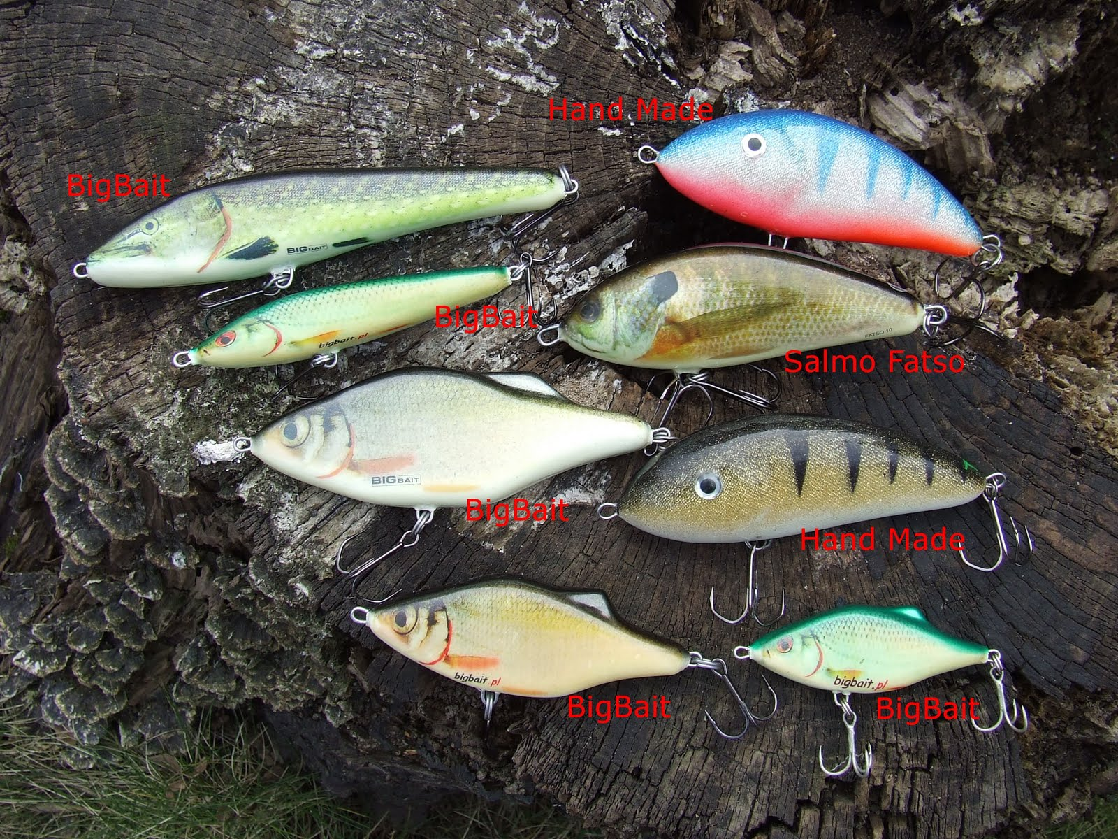 Lure bait for pike perch by own hands