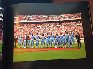 The Manchester City Line Up - Community Shield 2011