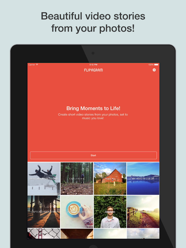 Flipagram App iTunes App By Cheerful, Inc - FreeApps.ws