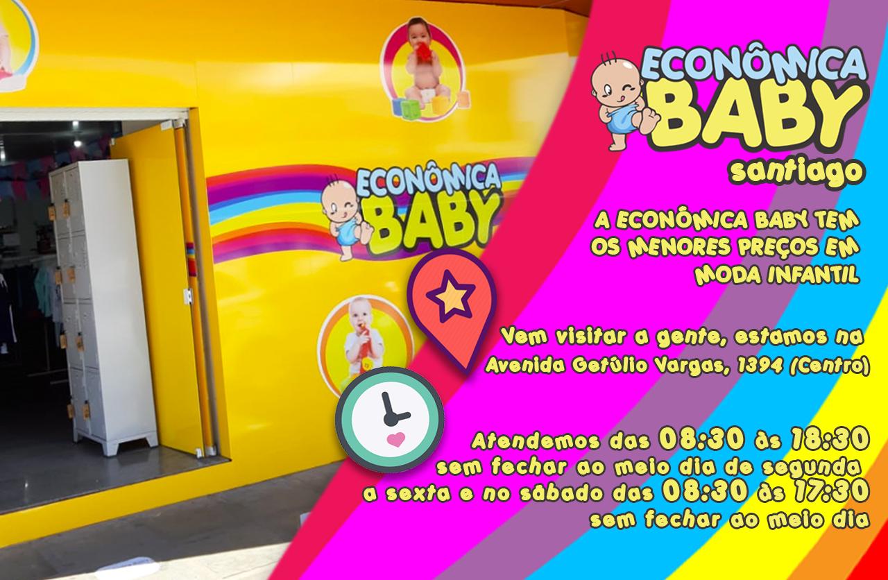 Econômica Baby Santiago!