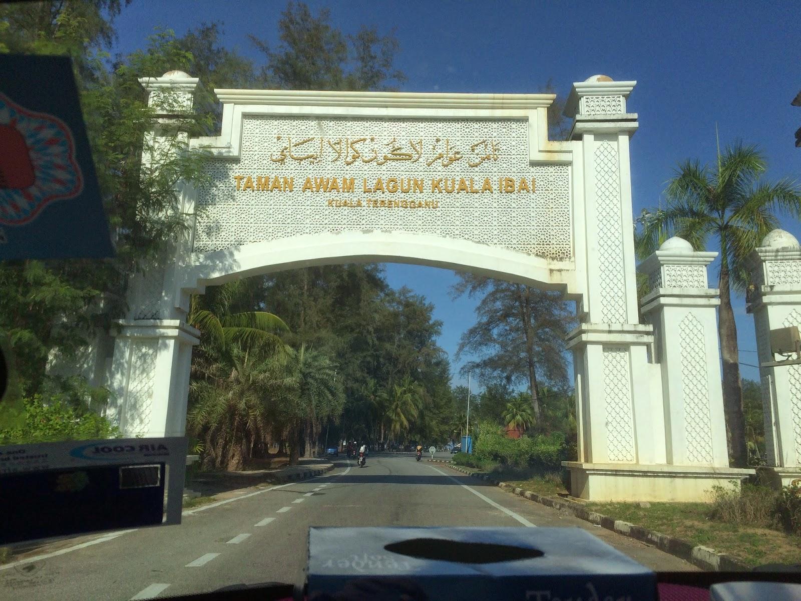 Jelajah Taman Awam Lagun Kuala Ibai Kuala Terengganu