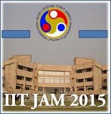 IIT JAM 2015 Paper Pattern