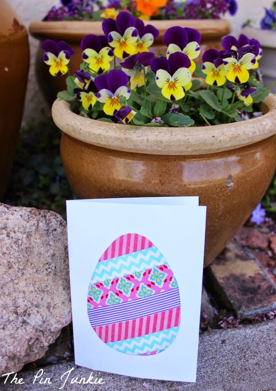 easter egg card diy