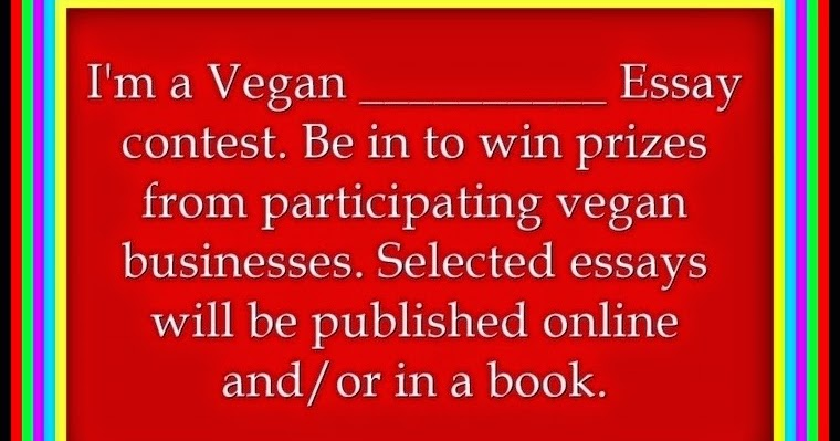 What are some good vegetarian essay titles?