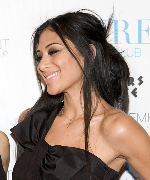 makeup ideas for brown eyes , Eye makeup style , Nicole Scherzinger