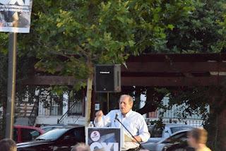 Η πρώτη εκδήλωση υπέρ του ΟΧΙ στην πλατεία Άνω Λιοσίων