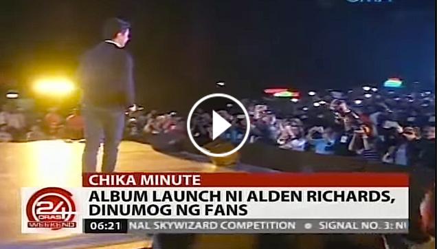 Alden Richards on his music album launching