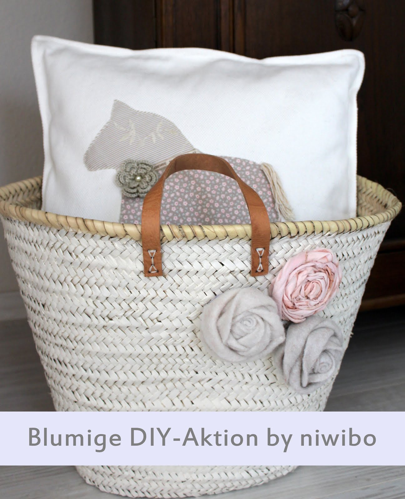 Blumige DIY-Aktion