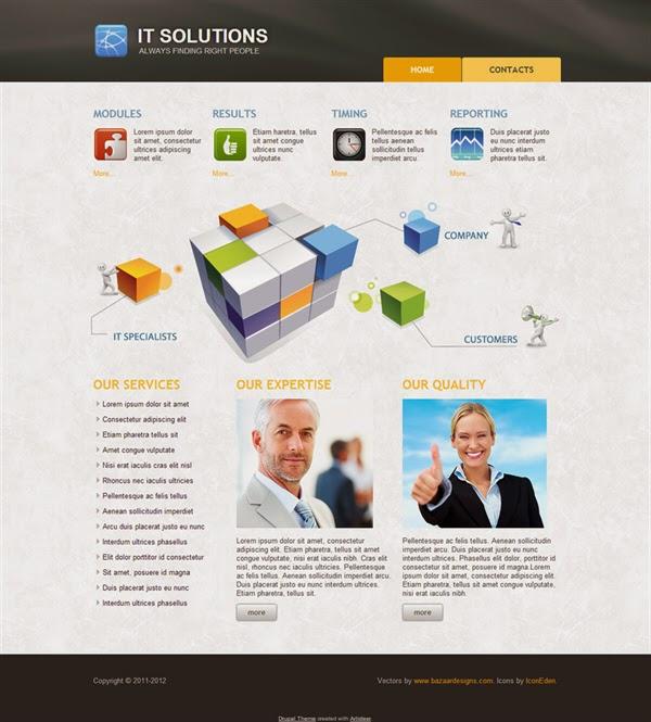 IT Solutions - Free Drupal Theme