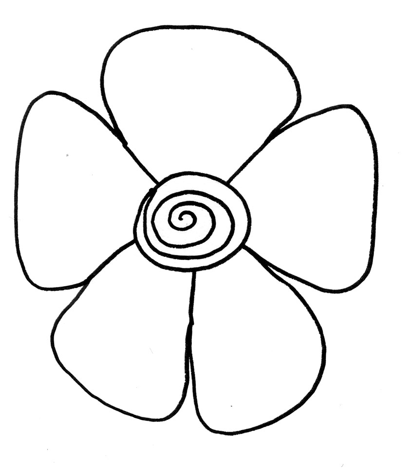 Makers and shakers how to draw doodle flowers 9 easy steps for Simple carnation drawing