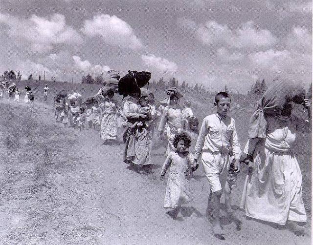 Al Nakba - A catástrofe palestina - palestinos expulsos - 1948