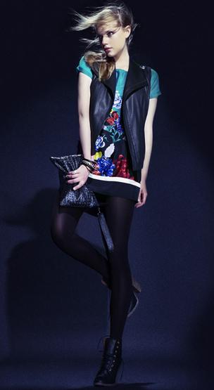 vestidos estampados 2011
