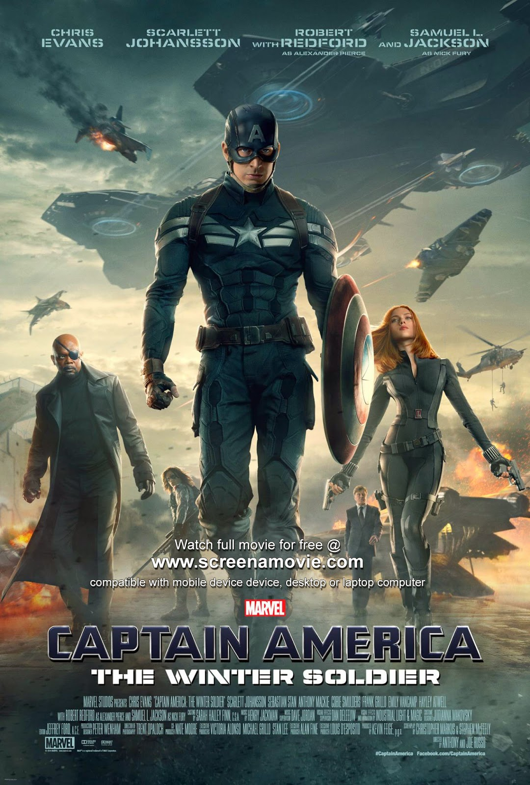 Captain America: The Winter Soldier @screenamovie