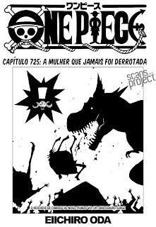 One Piece 725 Português Mangá leitura online