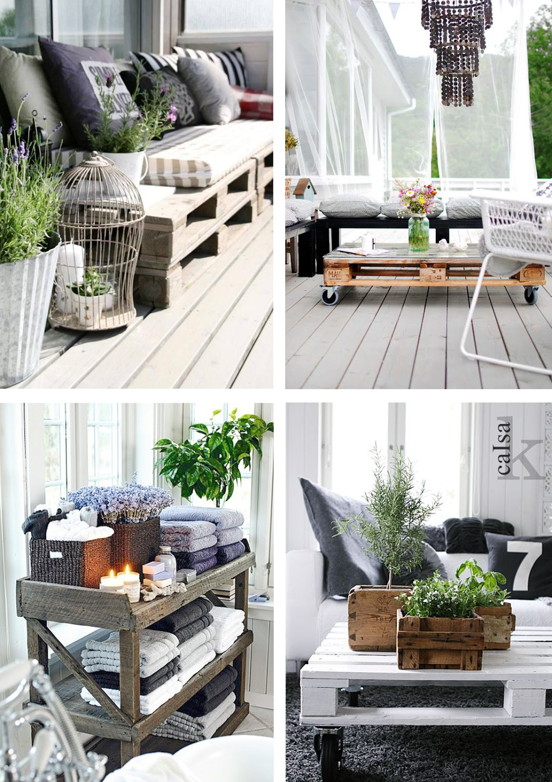 Chicdeco Blog | 10 smart pieces of furniture made with pallets