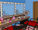 Solucion Gathe Escape-Makeup Room Guia
