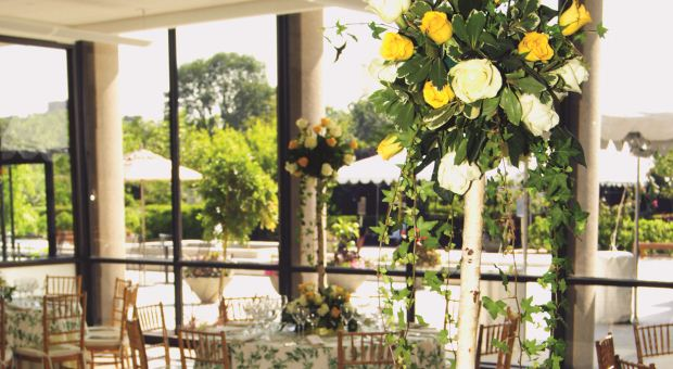Dinning Room Cleveland Botanical Gardens Wedding Venue And Reception