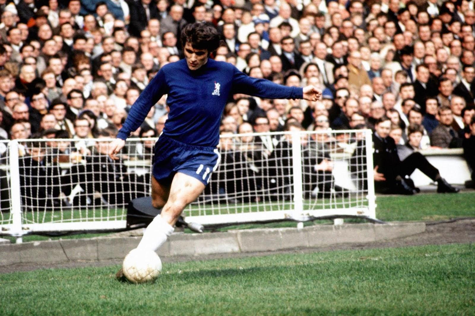 Chelsea fc Legend Charlie Cook