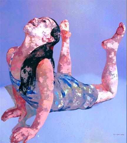 Jin Guo Element in Guo Jin's Work