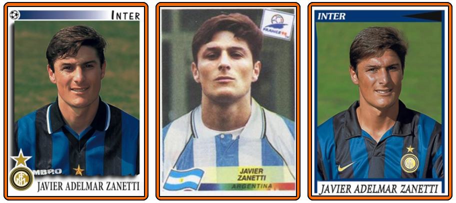 Javier zanetti and his wife