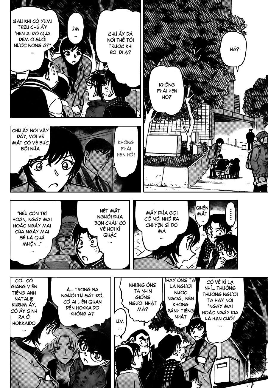 Thám Tử Lừng Danh Conan - Chapter 806 - Pic 11