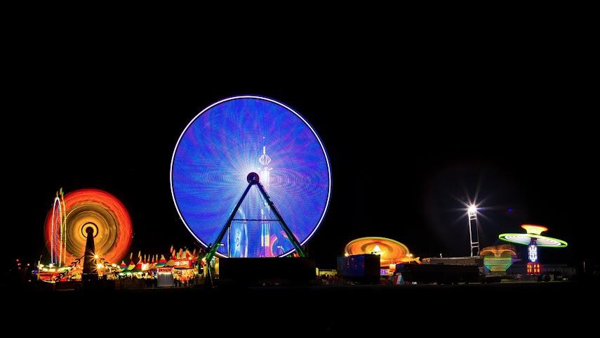 Circular Blur, Oakland Fair, Oakland, CA -- by Harpreet Grewal