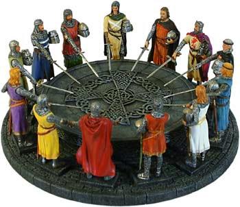 guerrieri tavola rotonda
