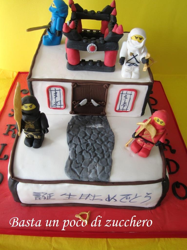 Basta un poco di zucchero torta lego ninjago for Decorazioni torte ninjago