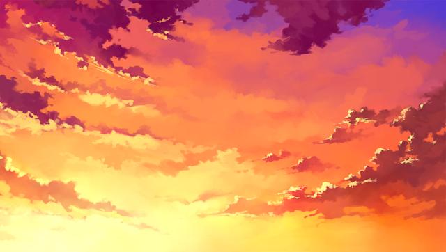 Anime Landscape Sky Anime Landscape
