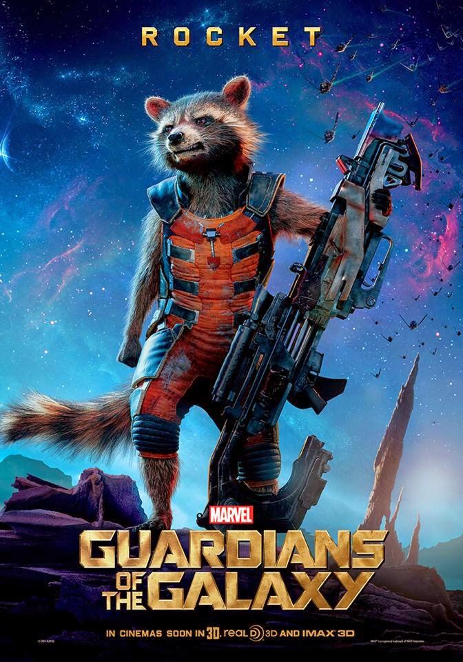fashion  action guardians   galaxy rocket groot gamora posters