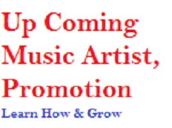 upcoming artist promotion image