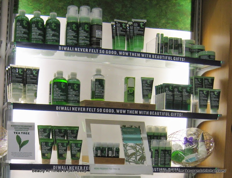 Photos of The Body Shop Tea Tree Range India