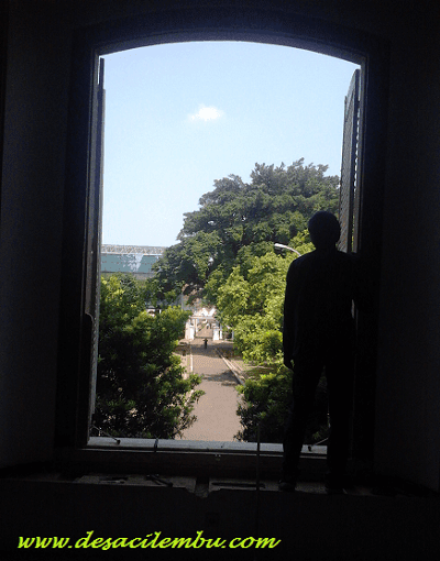 Panorama dari Jendela Istana Bogor