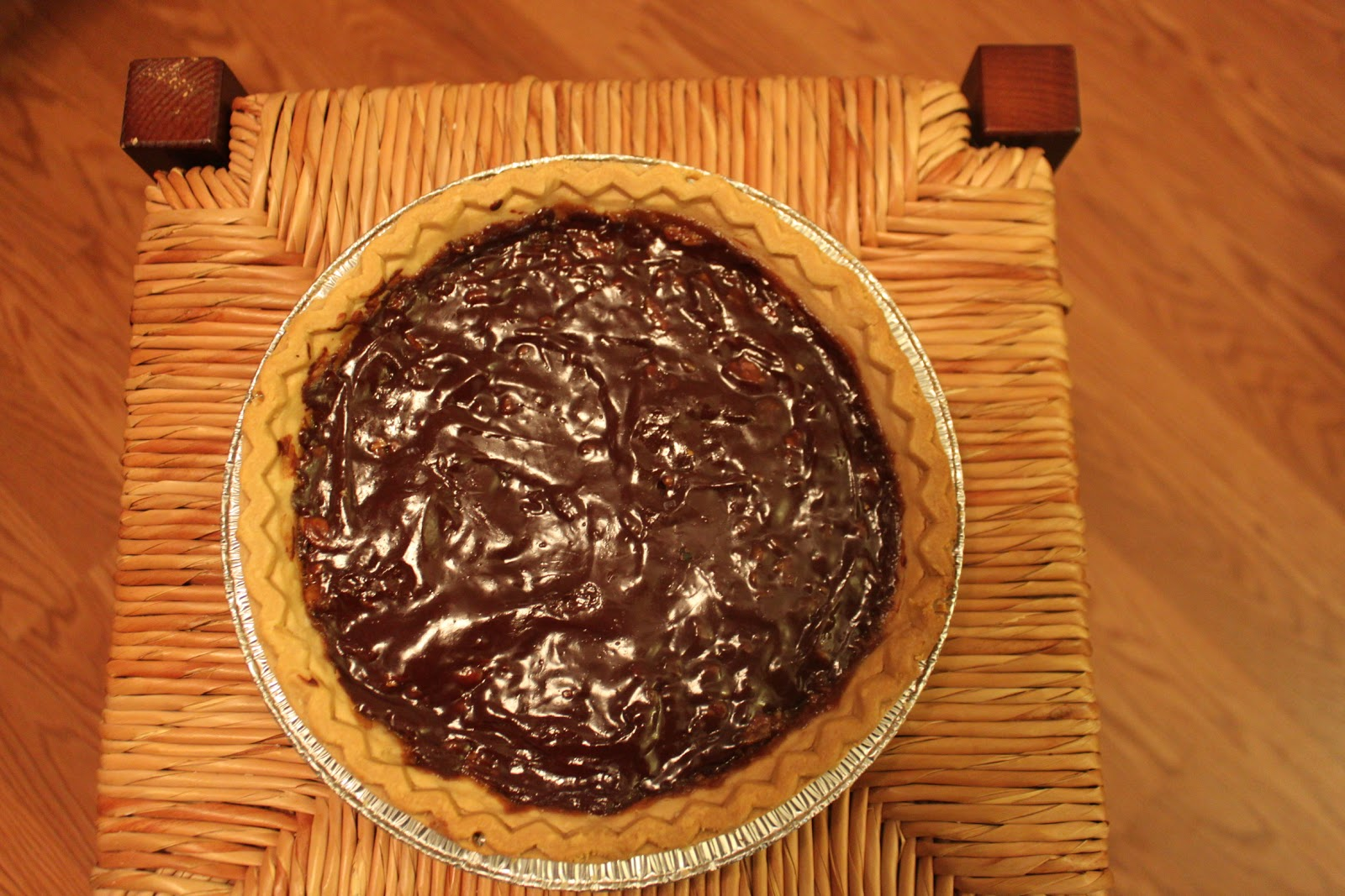 Today I Cooked...: Bittersweet Chocolate Pecan Pie(s)