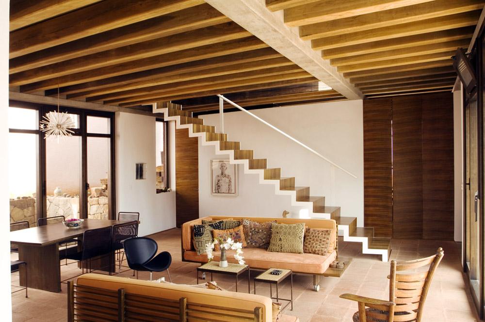 Podio casa estudio oaxaca por taller de arquitectura for Estudio de arquitectura
