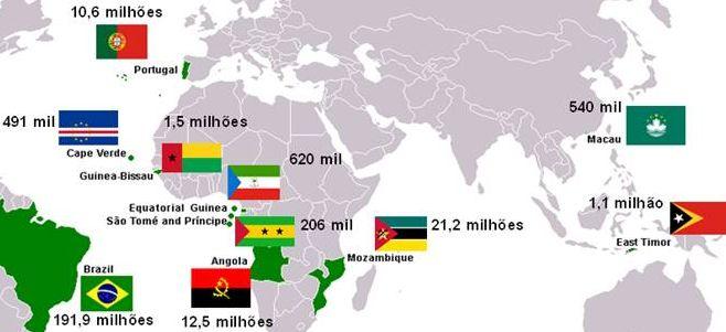 Os países lusófonos pelo mundo | ..:: [LUSATUR]