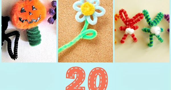 20 Pipe Cleaner Crafts