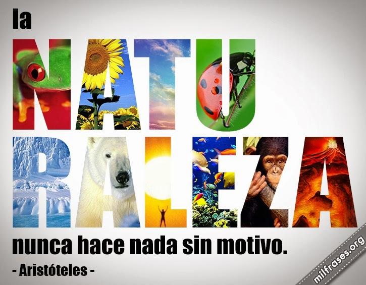 frases de naturaleza Aristóteles, filósofo griego. #AllYouNeedIsEcuador