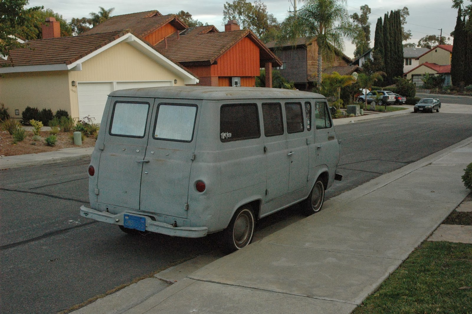 The Knife Absinthe Association Ford Econoline 1964 Van This Is A Built In February Loraine Ohio