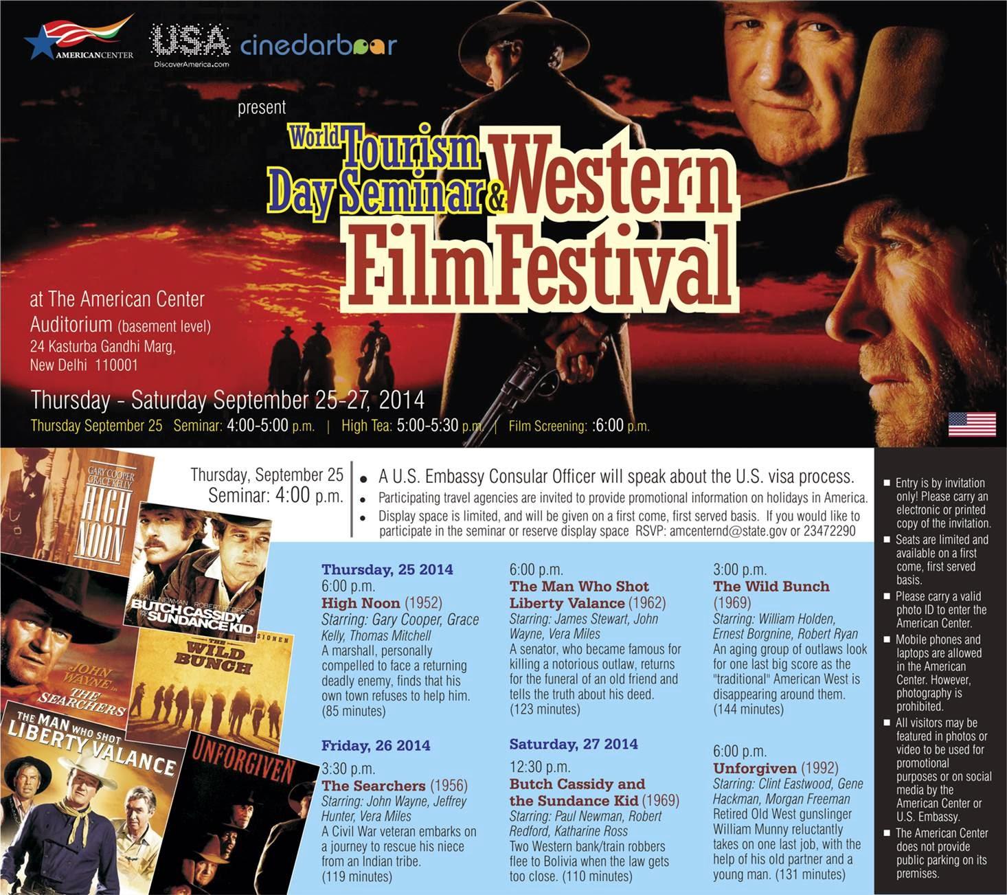 Western Film Festival, Festival Poster