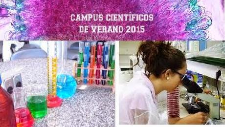 Abierta la convocatoria para participar en los Campus Científicos de Verano 2015.