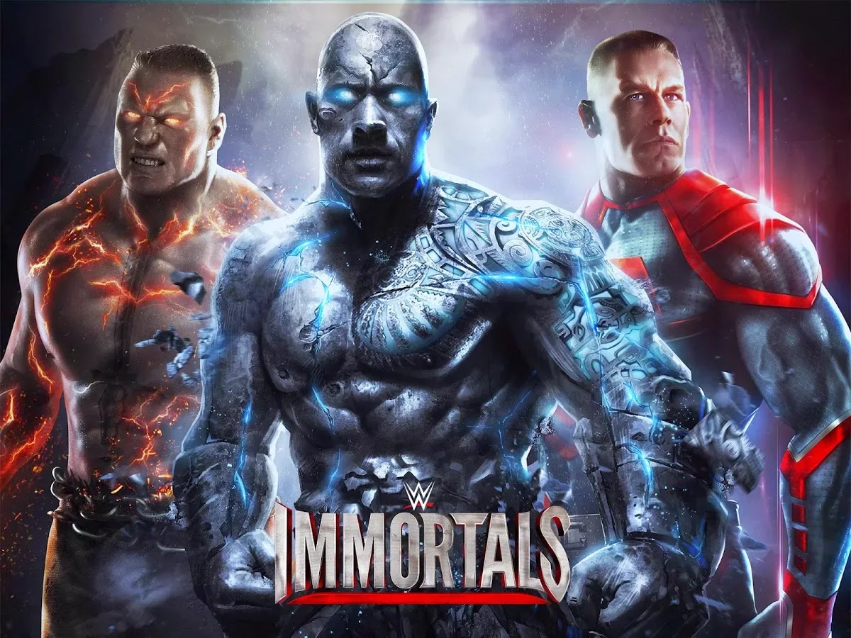 wwe Immortals Android Mobile Game