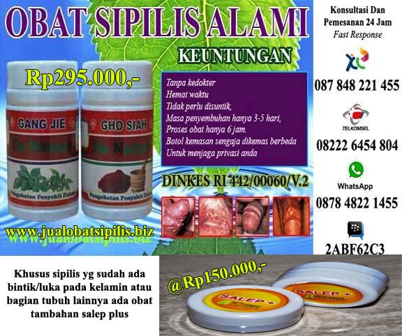 Obat Sipilis Herbal Paling Mujarab