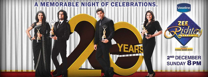 Kratika sengar in zee rishtey awards 2012