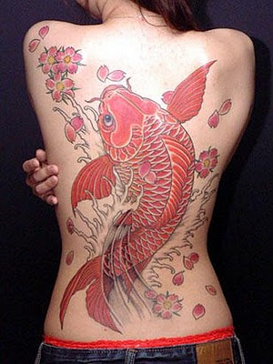 Koi Fish Tattoo Women